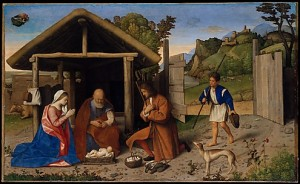 Catena - The Adoration of the Shepherds