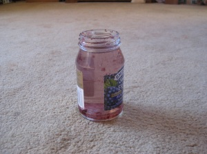 Jelly Jar on the Carpet