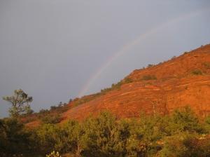 Rainbow over Sugarloaf
