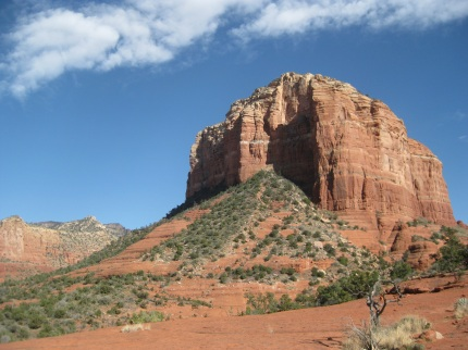 Edge of Cathedral Rock