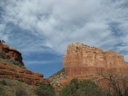Edges of Bell Rock and Cathedral Rock