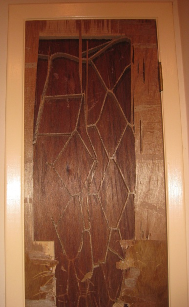 Patterned Damaged Door