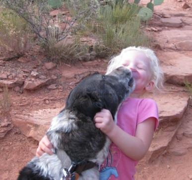 Bongo and Little Girl
