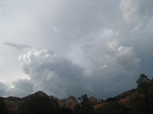Thunder Clouds over Sedona