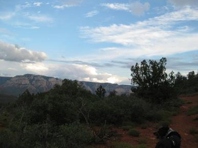 Cloud Buildups on the horizon and Bongo