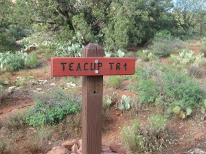 Teacup Trail Sign
