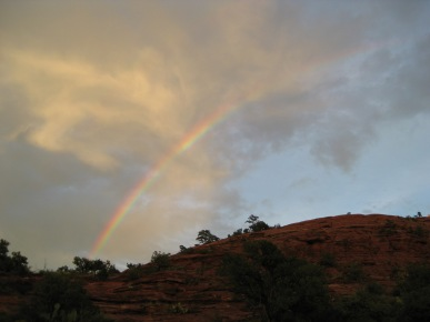 Rainbow over Sugarloaf