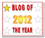Blog of the Year 2012 - one star