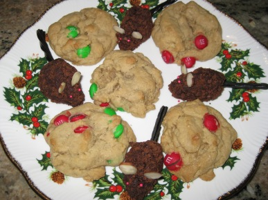 Mouse Cookies and M&M Cookies