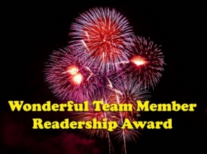 Wonderful Team Readership Award