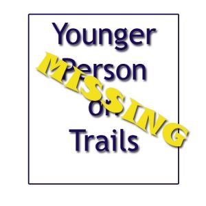 Younger Person Missing Sign
