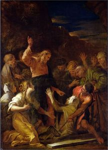 Christ cleansing a leper