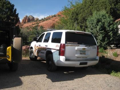 Sheriff Vehicle
