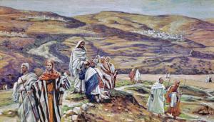 Jesus sends the 72 in pairs