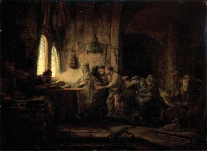 Rembrandt - Parable of the Laborers in the Vineyard