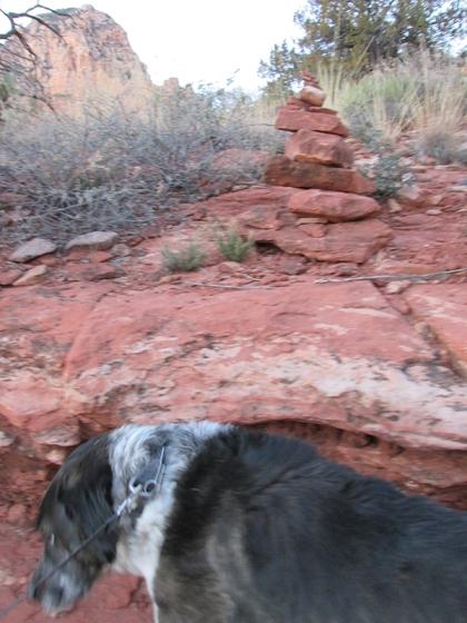 A rock pile above Bongo