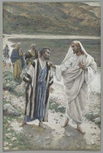 Feed My Lambs - James Tissot [Public domain], via Wikimedia Commons