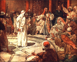 Facing the Sanhedrin