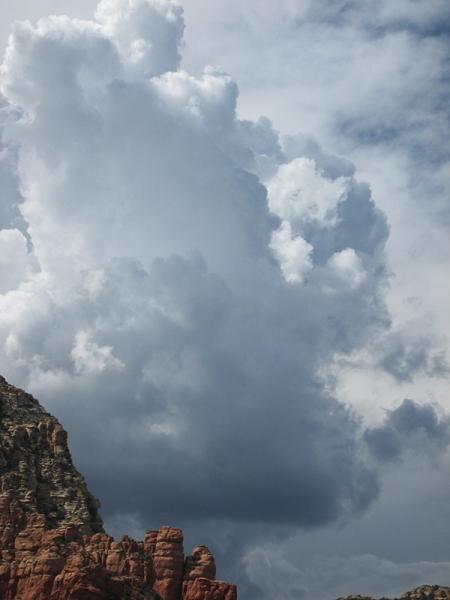 Dark cloud buildups