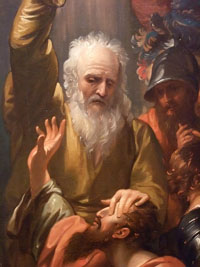 Ananias Restoring Sight by Benjamin West