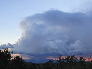 Storm over Mingus Mountain